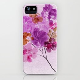 A Floral Sprig iPhone Case