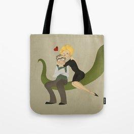 Suddenly Seymour Tote Bag