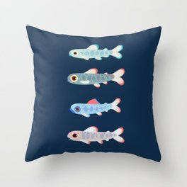 Trouts Throw Pillow