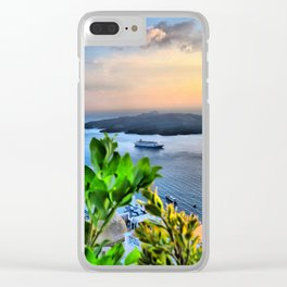Santorini 2 Clear iPhone Case