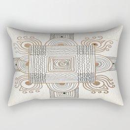 Rangoli 1 Rectangular Pillow