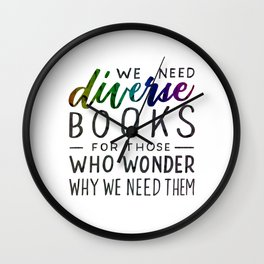 Diverse Books For Those Who Wonder Why Wall Clock
