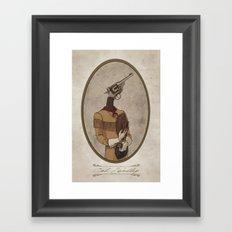Col. Webley Framed Art Print