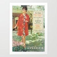 1969 - Spring SUmmer Catalog Cover Art Print