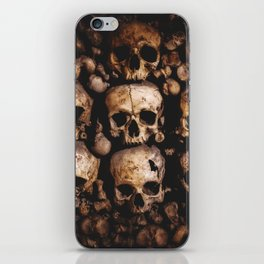 The catacombs of Paris iPhone Skin