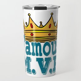 Sport lover? Basketball Player? Grab this awesome tee design crafted perfectly for you!  Travel Mug