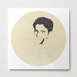Federico García Lorca Metal Print