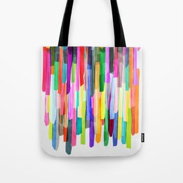 Colorful Stripes 4 Tote Bag