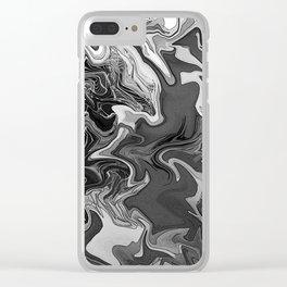 Arezzera Sketch #823 Clear iPhone Case