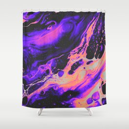ABNORMAL BEHAVIOR & UNCONTROLLABLY VAPOR Shower Curtain