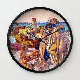 Bacchus And Ariadne - Digital Remastered Edition Wall Clock