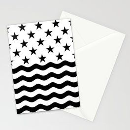 ADVENTURE (BLACK-WHITE) Stationery Cards