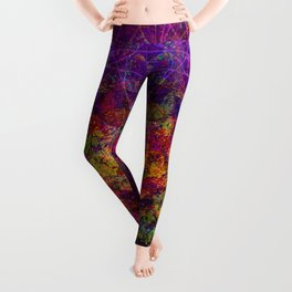 Love Portal to the Moon Leggings