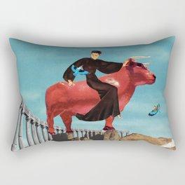 Zeus & Europa Rectangular Pillow