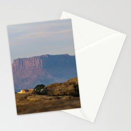 Distant Mesa Stationery Cards
