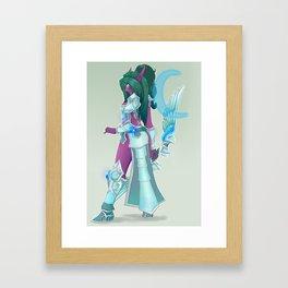 hots Tyrande orig Framed Art Print