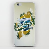 football iPhone & iPod Skins featuring Football  by ArtAngelo