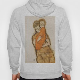 """Egon Schiele """"Mother and Child"""" Hoody"""