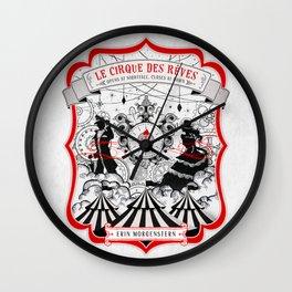 The Night Circus - light Wall Clock