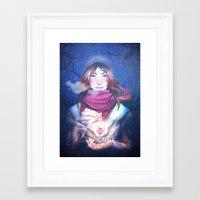 xmas Framed Art Prints featuring Xmas by Plotto