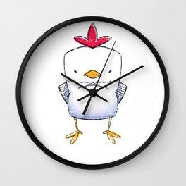 Chicken Cute Little Chick Wall Clock