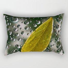 Rain on Window Rectangular Pillow