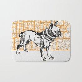 Pitbull Terrier by Moriz Jung, 1912 - Wiener Werkstätte Bath Mat