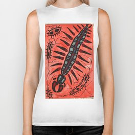 Amoeba Monster #2 Biker Tank