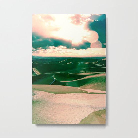 The Sands Metal Print
