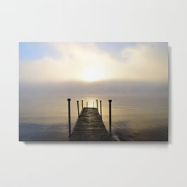 Into the Light: Sunrise, First Full Day of Fall Metal Print