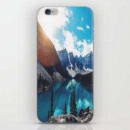Lake Moraine iPhone Skin