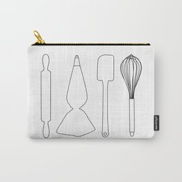 Baker Baking Tools - White Carry-All Pouch