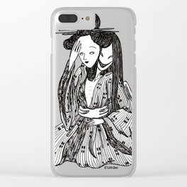 ''gueisha'' Clear iPhone Case