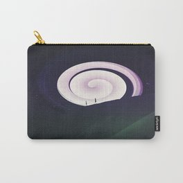 Purple Swirl Carry-All Pouch