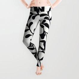 Winding Vine Pattern Leggings