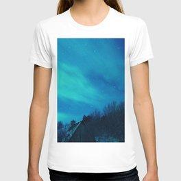 Beyond the night sky T-shirt