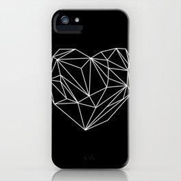 Heart Graphic (Black) iPhone Case