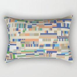 Chromatetude (Soft Colours) Rectangular Pillow