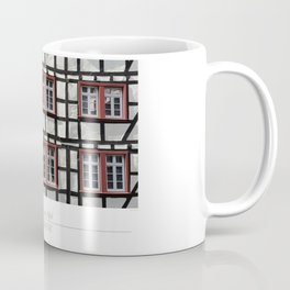 City of Monschau, German architecture Coffee Mug