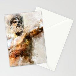 Zeus God of Thunder Greek Mythology - Jupiter Stationery Cards