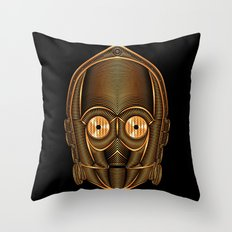 Star . Wars - C-3PO Throw Pillow