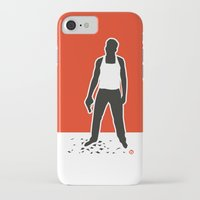 die hard iPhone & iPod Cases featuring DIE HARD by Alain Bossuyt