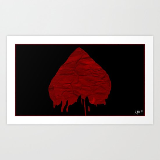 Destroyed Art Print
