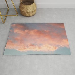 Pink and Blue Sky Over Newport Rhode Island Rug