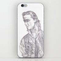 enjolras iPhone & iPod Skins featuring Enjolras by rapunzette