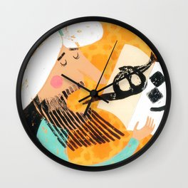 The Teacher Wall Clock