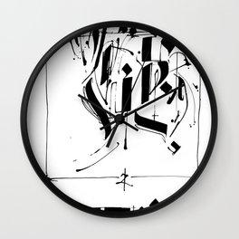 CALLIGRAPHY N°5 ZV Wall Clock