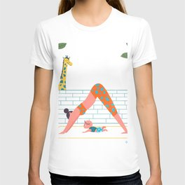in a yoga state of mind T-shirt