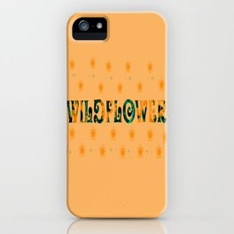 Tom Petty Wildflower iPhone Case