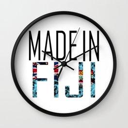 Made In Fiji Wall Clock